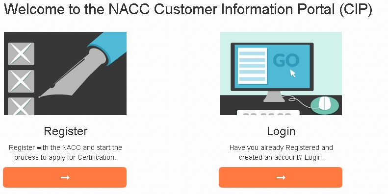 NACC Customer Information Portal (CIP)